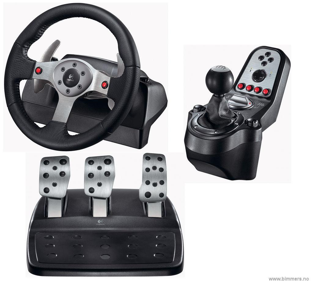 logitech g25 ratt pedaler gir til pc ps3 solgt annet selges bmw forum. Black Bedroom Furniture Sets. Home Design Ideas