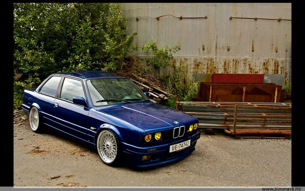 My Quot Stanced Quot Bmw E30 You Judge D