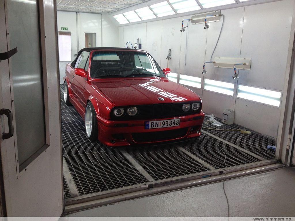 Bmw E30 Cab Candy Apple Red Bilder Og Filmer Show Off Bimmers No Bmw Forum