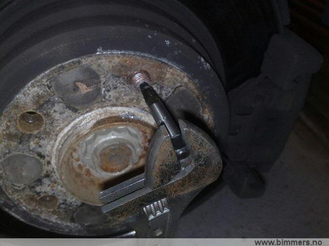 Knekt bolt hjul med