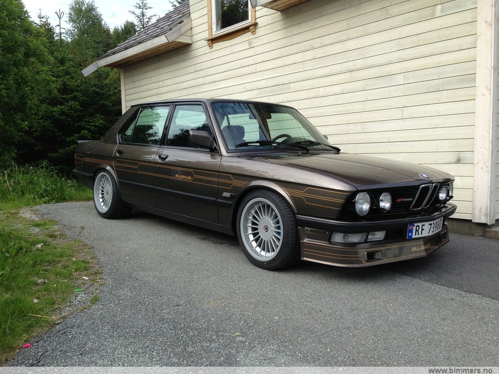 E28 Alpina B7 Turbo 238 Bmw M5 Forum And M6 Forums