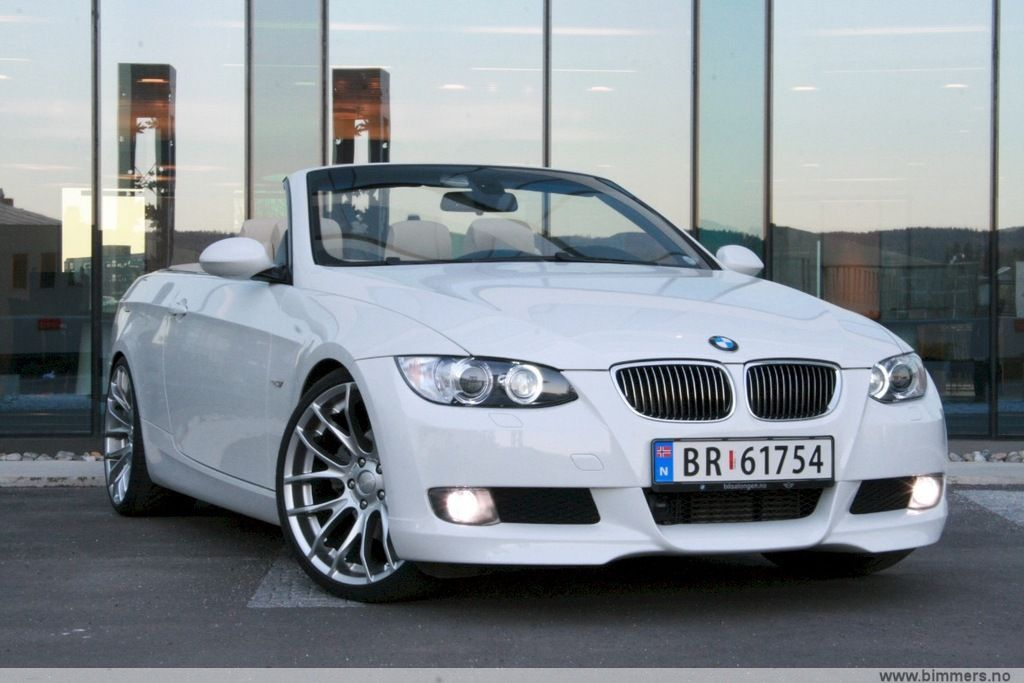 bmw e93 325da convertible in norway. Black Bedroom Furniture Sets. Home Design Ideas