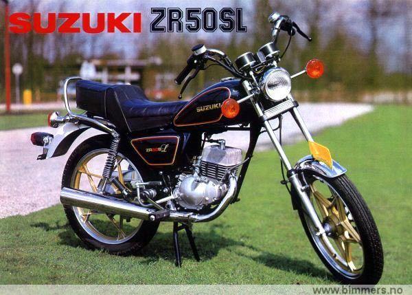 Suzuki Zr 50 Sl Til Salgs
