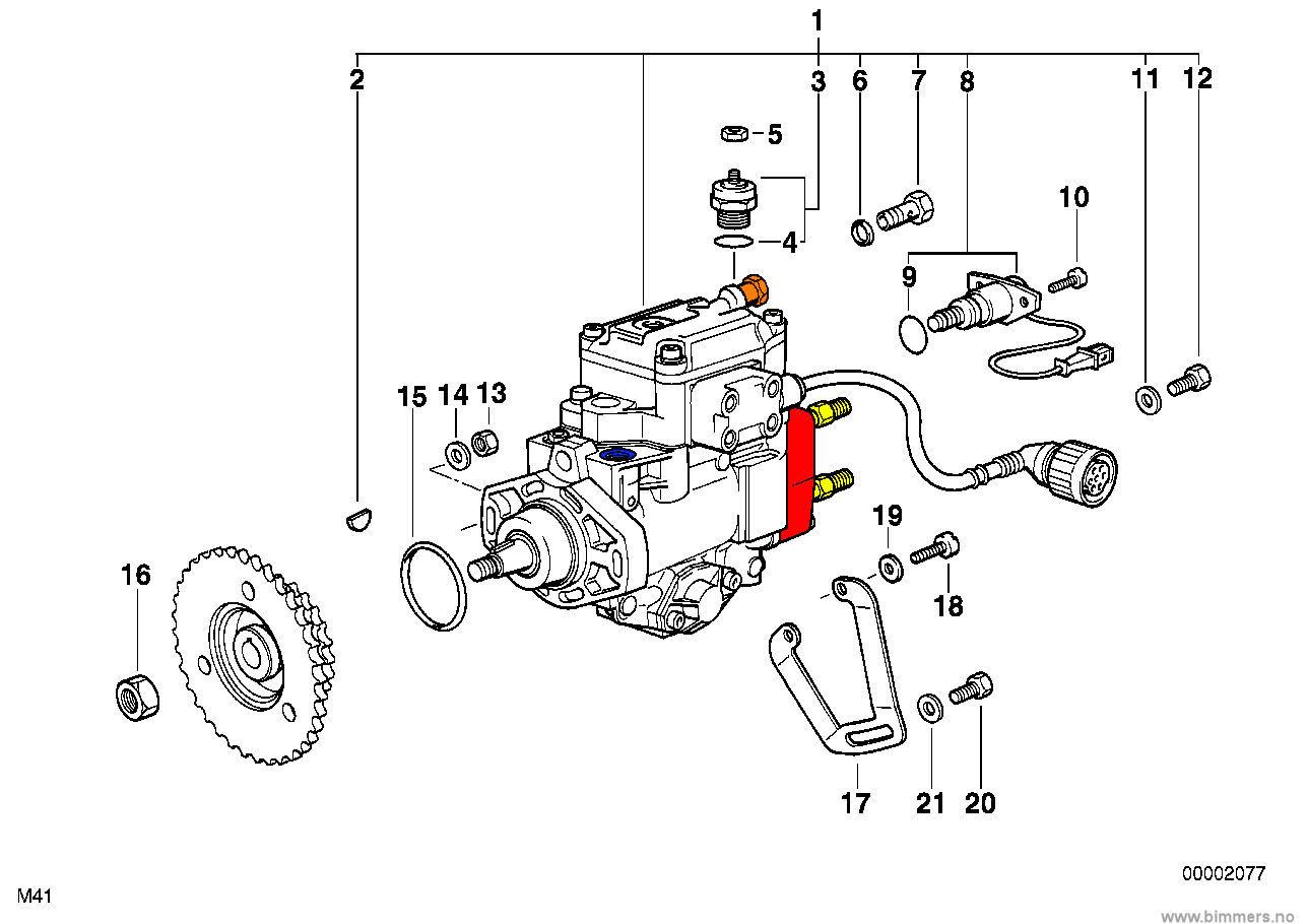 Lufte diesel system