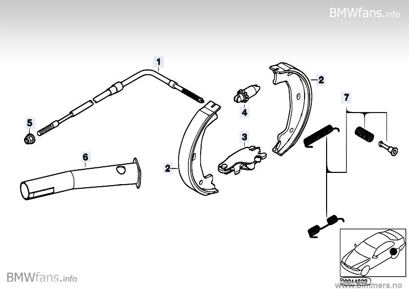 bmw e46 330i handbremse einstellen. Black Bedroom Furniture Sets. Home Design Ideas