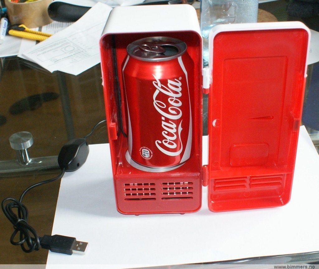 Minikjøleskap cola